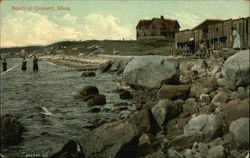 View of Beach Postcard