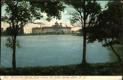 New Monmouth House, from across the Lake Postcard