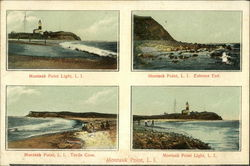 Views of Montauk Point Lighthouse