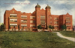 Yeatman High School Postcard