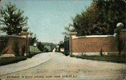Entrance to White Springs Dairy Farm