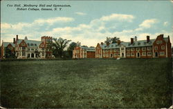 Hobart College - Cox Hall, Medburry Hall and Gymnasium