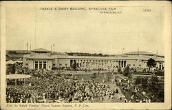 Syracuse Fair - Grange & Dairy Building
