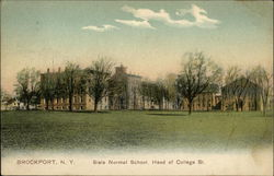 State Normal School, Head of College Street