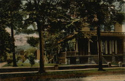 Brown Cottage Residence of Mrs. Mary J. Holmes