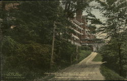 Jackson Health Resort - North Approach Postcard
