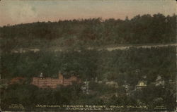 Jackson Health Resort from Valley Postcard