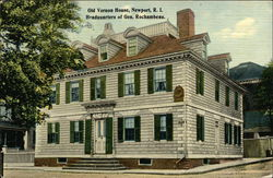 Old Vernon House, Headquarters of General Rochambeau