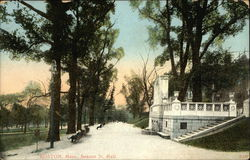 Beacon Street Mall Postcard