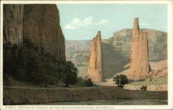Canyon de Chelley on the Navajo Reservation