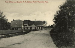 Post Office and Seaside R.R. Station