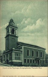 Church of the Pilgrimage (Congregational) Postcard