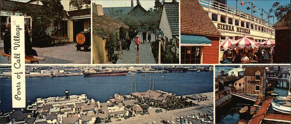 Ports of Call Village, Los Angeles Harbor San Pedro California