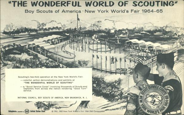 The Wonderful World of Scouting' Boy Scouts of America - New York World's Fair 1964-65
