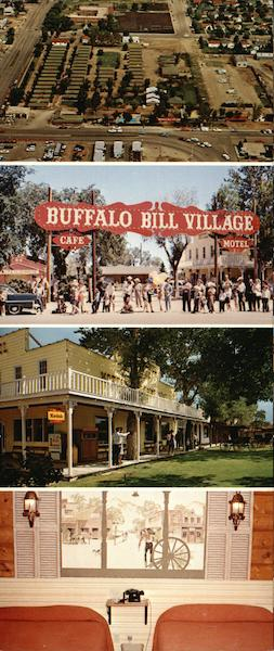 Buffalo Bill village - complete guest center Cody Wyoming