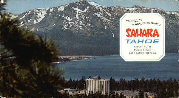 Sahara Tahoe Resort Hotel Lake Tahoe Nv