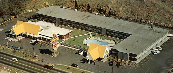 Hornes Motor Lodge & Crown Restaurant Asheville North Carolina