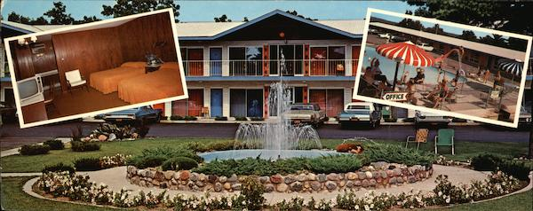 Mayflower Motel - Interior and Exterior Views Wisconsin Dells