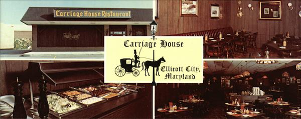 The Carriage House Restaurant Ellicott City Md