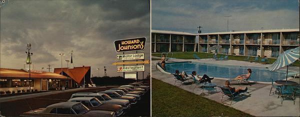 Howard Johnson 39 S Motor Lodge Topeka Ks