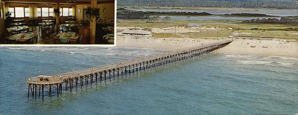 Barnacle Bill's Fishing Pier Surf City North Carolina