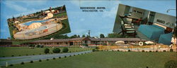 Boxwood Motel Large Format Postcard