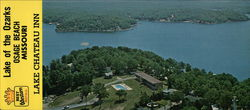 Lake Chateau Resort Inn Large Format Postcard
