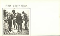 First scout camp
