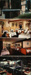 Du Barry French Restaurant Large Format Postcard