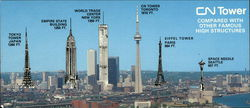 CN Tower compared with other famous historic high structures