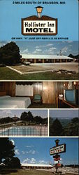 Hollister Inn Motel Large Format Postcard