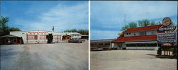 The Wagon Wheel Restaurant and Playhouse Large Format Postcard