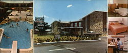 The Lexington Apts. and Motor Inn Large Format Postcard