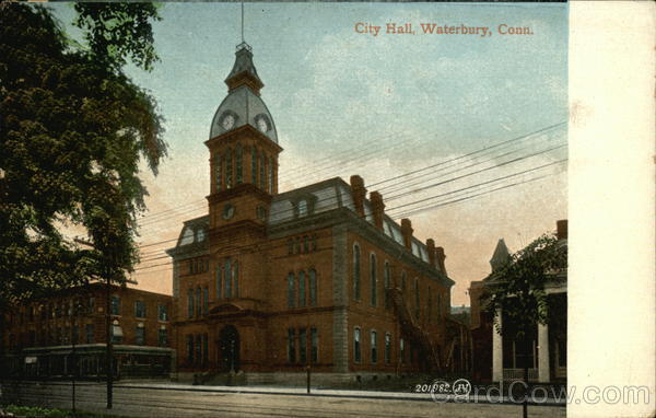 City Hall Waterbury Connecticut