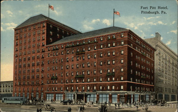 Fort Pitt Hotel Pittsburgh Pennsylvania