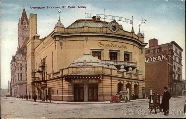 Orpheum Theatre St. Paul Minnesota