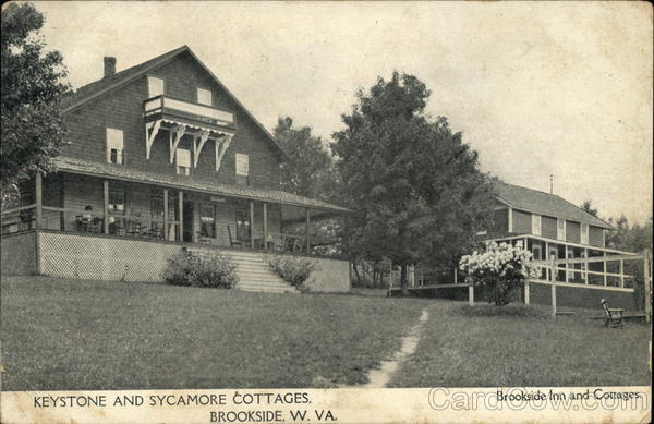 Keystone and Sycamore Cottages Brookside West Virginia