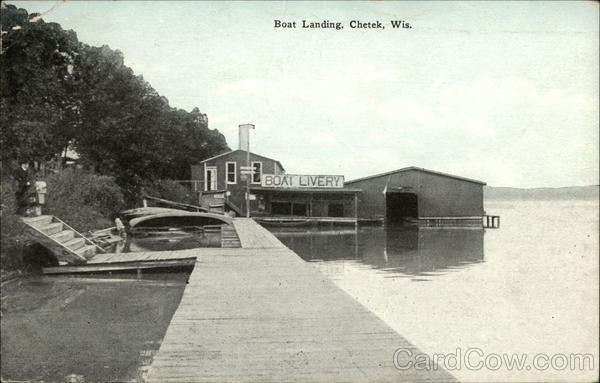 Boat Landing and Livery Chetek Wisconsin