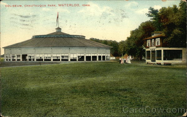 Coliseum, Chautauqua Park Waterloo Iowa