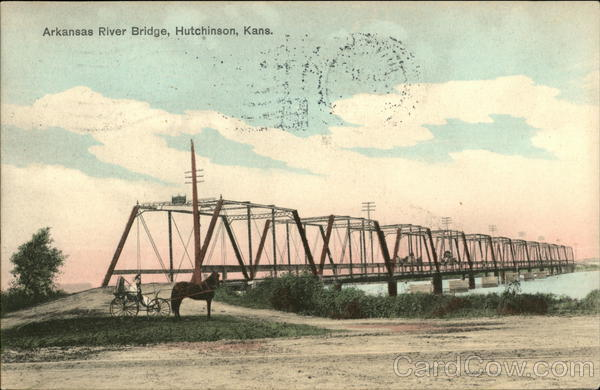 Arkansas River Bridge Hutchinson