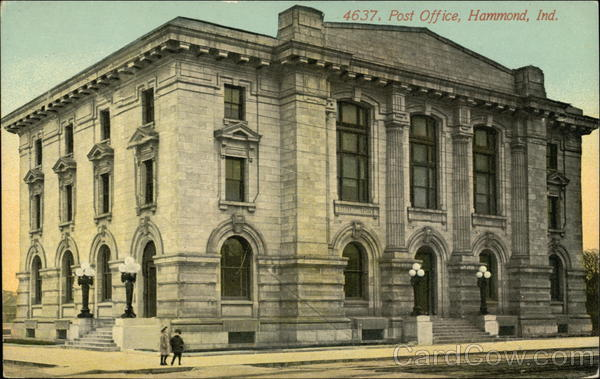Post Office Hammond Indiana