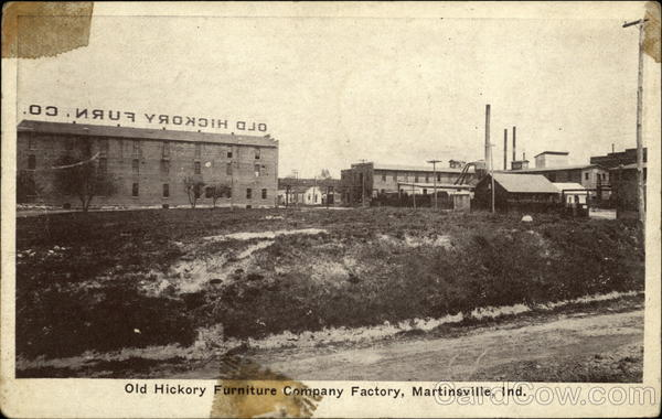 Old Hickory Furniture Company Factory Martinsville In