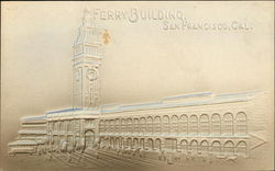 Embossed Image of Ferry Building