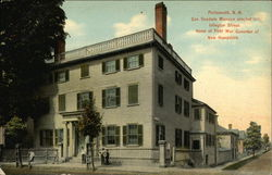 Gov. Goodwin Mansion Erected 1811, Islington Street. Home of First War Governor of New Hampshire