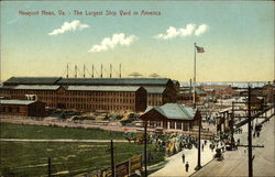 Largest Ship Yard in America