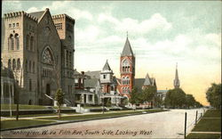 Fifth Avenue, South Side, Looking West