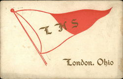 LHS - London High School Pennant