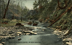 Berlin Heights, Ohio, in Der Ravine