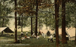 Camp on the Tuscarawas, Ohio