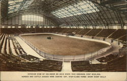 Interior View of Coliseum on Ohio State Fair Grounds